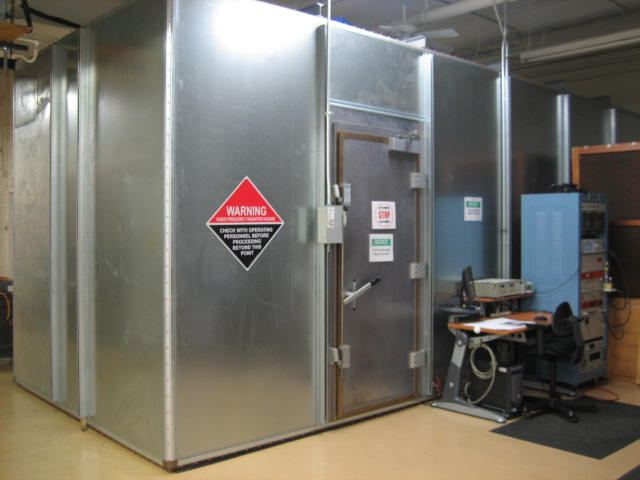 Radiated Immunity Test Chamber