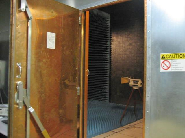 Radiated Emissions Test Chamber